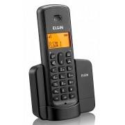 Telefone Elgin Sem Fio Viva Voz Display Iluminado TSF 8001 Preto