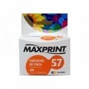Cartucho compatível HP 57 Colorido Maxprint 17ML