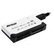 Leitor de Cartão 46 em 1 Multilaser Compact Flah Micro SD MMC AC076