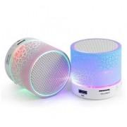 Mini Caixa de Som Bluetooth HLD-601 3W RMS C/ Leds