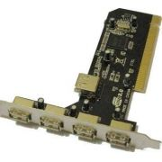 PLACA PCI USB 2.0 4 PORTAS USB