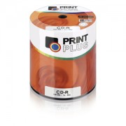 MIDIA CD-R MULTILASER PRINT PLUS C/ LOGO CD100PP C/ 100 UNIDADES