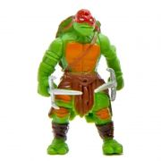 Mini Action Figure Tartaruga Ninja Raphael 5cm