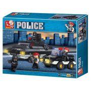 Blocos Polícia Tanque De Guerra 311 Peças - BR836
