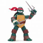 Boneco Figura de Ação Colecionável Tartarugas Ninja Raphael 11CM