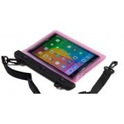 Capa à prova d`Agua para Tablet de até 21cm x 15cm Rosa