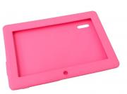 Capa De Emborrachada Para Tablet 7 Polegadas Rosa
