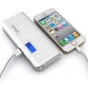Carregador Portatil Power Bank Pineng 10000mah USB lanterna PN968