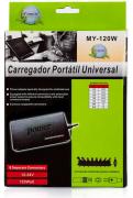 Fonte Carregador Universal chaveado p/ Notebook  120W 4790