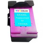 Cartucho Compativel HP 664 XL Colorido