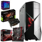 Computador CPU  Gamer Intel Core I3 8100 8GB 1050 TI SSD 120GB 1TB