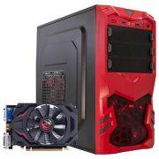 Computador CPU Top Gamer Amd Fx 4300 8GB DDR3 HD 1TB Radeon 6570 4GB 500W