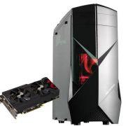 Computador CPU Top Gamer Amd Fx 8300 8GB DDR3 HD 1TB RX 570 4GB 500W