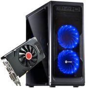Computador CPU Top Gamer Amd Fx 6300 8GB DDR3 HD 1TB RX 560 4GB 500W