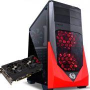 Computador CPU Top Gamer Intel Core I3 7100 3.9Ghz 8GB DDR4 HD 1TB RX 570 4GB Fonte 500W 80 Plus