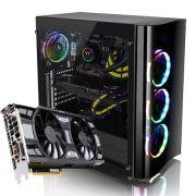 Computador CPU Top Gamer Intel Core I7 7700 3.9Ghz 16GB DDR4 HD 1TB SSD 240GB GTX 1070 8GB Fonte 700W 80 Plus