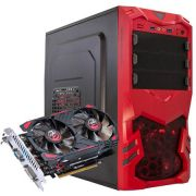 Computador CPU Top Gamer Intel Dual Core G4560 3.5Ghz 8GB DDR4 HD 1TB GTX 750Ti 2GB Fonte 500W