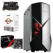 COMPUTADOR GAMER MOBA  LVL 1 AMD ATHLON 200GE DUAL CORE 3.2GHz 8GB Ram 2400MHZ RX550 4GB 1TB