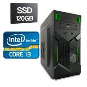 Computador Home CPU Intel Core I3 2120 3.3GHZ 4GB DDR3 SSD 120GB