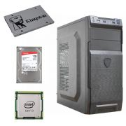 COMPUTADOR HOME CPU INTEL CORE I3 2120 3.3GHZ 8GB DDR3 SSD 120GB HD 1TB