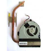 Cooler E Dissipador Asus A43 A53 K43 K53 K54 K84 - Ksb06105hb (semi novo)