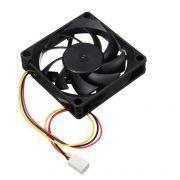 Cooler p/ Gabinete 7 cm 70mm 70x70x15mm 12V DC 3pin