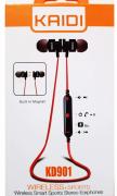 Fone De Ouvido Kd901 Kaidi In Ear Com Microfone Bluetooth