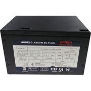 Fonte Braview NFREN Gaming ATX 550W 80Plus  A550W 80 PLUS