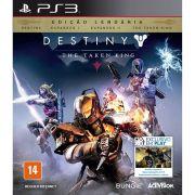 Jogo Destiny - The Taken King - Edição Lendária: Destiny, Espansão I, Espansão II, The Taken King - PS3