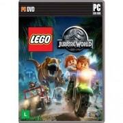 Jogo p/ PC Lego Jurassic World DVD Mídia Física