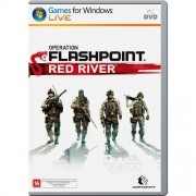 Jogo p/ PC Operation Flashpoint Red River DVD Mídia Física