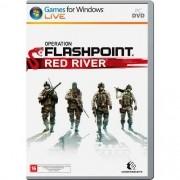 Jogo p/ PC Operation Flashpoint Red River DVD Mídia Física