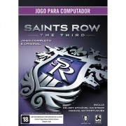 Jogo p/ PC Saints Row The Third Original DVD Mídia Física
