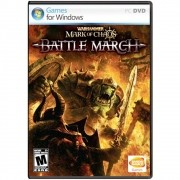Jogo p/ PC Warhammer Mark of Chaos Battle March Original DVD Mídia Física