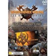 Jogo P/ PC Warhammer Online - Expansão Game Time de 60 Dias Lacrado DVD Midia Fisica