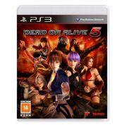 Jogo p/ PS3 Dead or Alive 5 DVD Midia Fisica