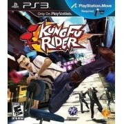 Jogo p/ PS3 Kung Fu Rider for PS3 - PlayStation Move Required DVD Midia Fisica