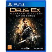 Jogo p/ PS4 Deus Ex Mankind Divided Day One Edition Mídia Física