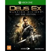 Jogo P/ Xbox One Deus Ex: Mankind Divided - Day One Edition Midia Fisica