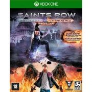 Jogo p/ XBOX ONE Saints Row IV: Re-Elected & Gat Out of Hell  DVD Mídia Física