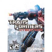 Jogo p/ PC Transformers: War for Cybertron Dvd Original Mídia Física