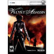 Jogo p/ PC Velvet Assassin DVD Original Mídia Física