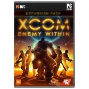 Jogo p/ PC Xcom: Enemy Within DVD Original Mídia Física
