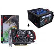 Kit Placa de video GTX 550 Ti PCYes + Fonte 550W Epic Power