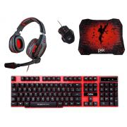 Kit RedShot C/ Teclado, Mouse, Mousepad e Headset