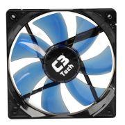 Kit C/ 10 Cooler Fan Led Azul C3 Tech F7-L100BL Storm 12cm