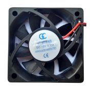 Micro Ventilador 60x60x15mm Fan Cooler 12v Dc Mini 60mm