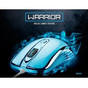Mouse Gamer Chrome Warrior Prateado Mo228