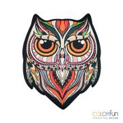Mousepad / Imã Decorativo ColorFun – Owl Color Roruja