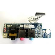 Placa Áudio e Som Notebook Acer Aspire 7520 P/N: Ls-3558p (semi novo)